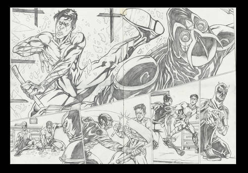 Nightwing 08 sample pages #3 - 4