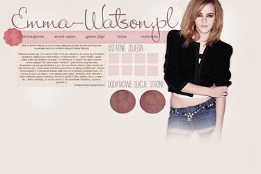 Emma Watson Layout by Alison