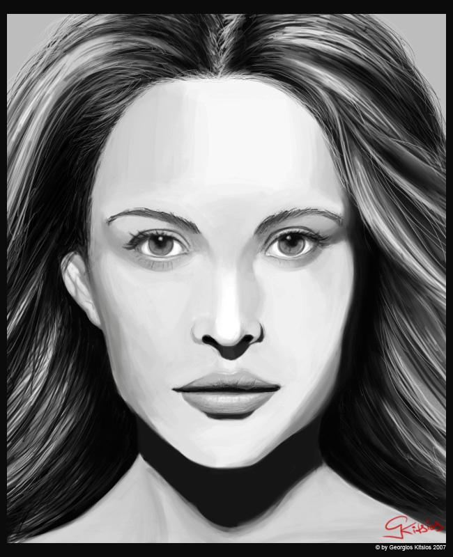 Josie Portrait by GekiSan