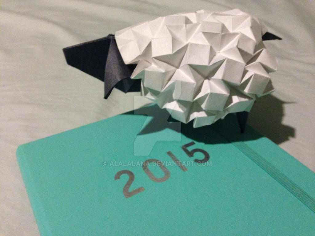 Origami Sheep For 2015