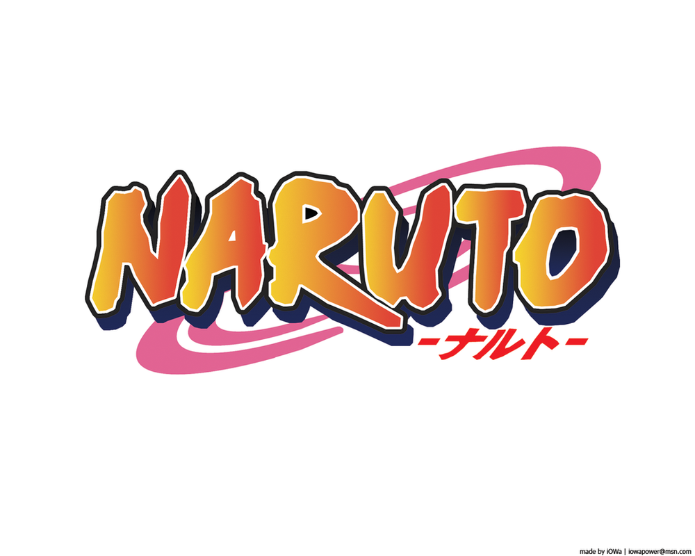 Good Wallpaper Logo Naruto - naruto_logo_hq_by_i0wa  Photograph_928563.png