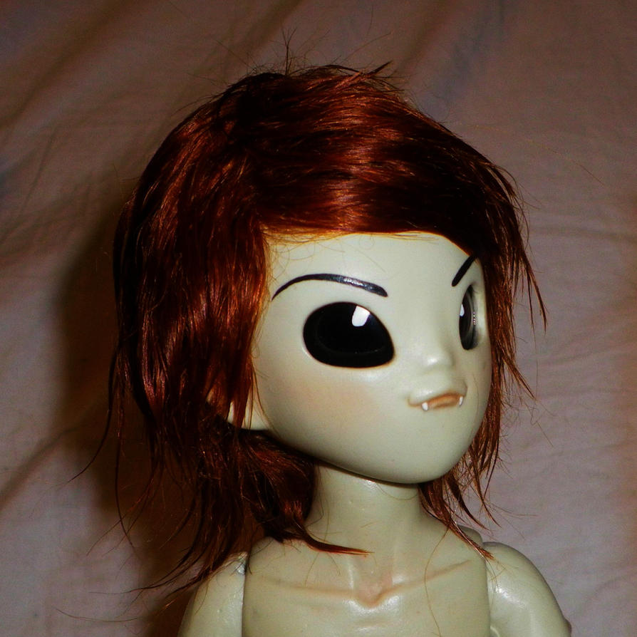 Mohair wig by ab-rowin