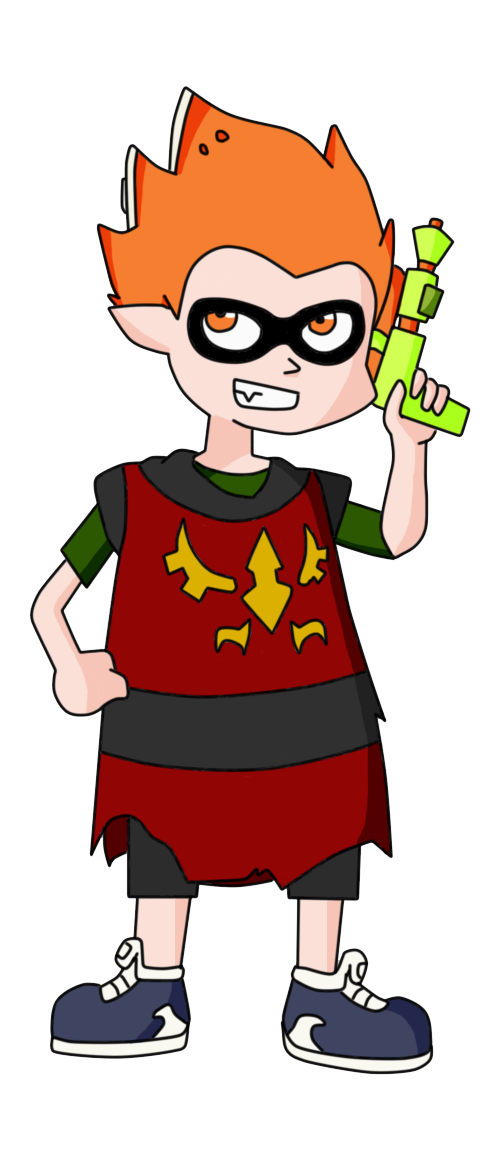SquidKid Travis by ShinigamiKant