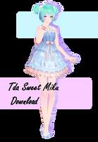 Tda Sweet Miku || DOWNLOAD by ToriiIsWeird