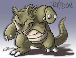 POKEDDEX - Day 5 - Rhydon