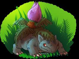 pokeddexy Day 10 - Grass type by kimardt