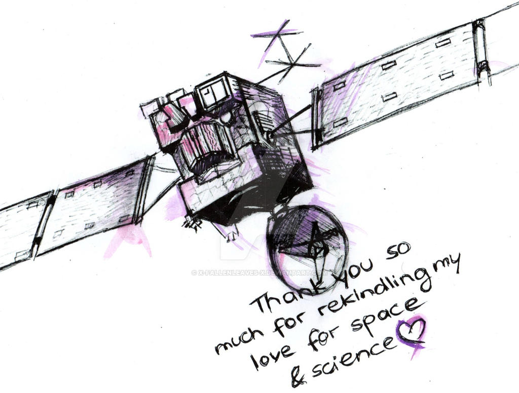 Entry for ESA's Rosetta Legacy Contest by x-FallenLeaves-x