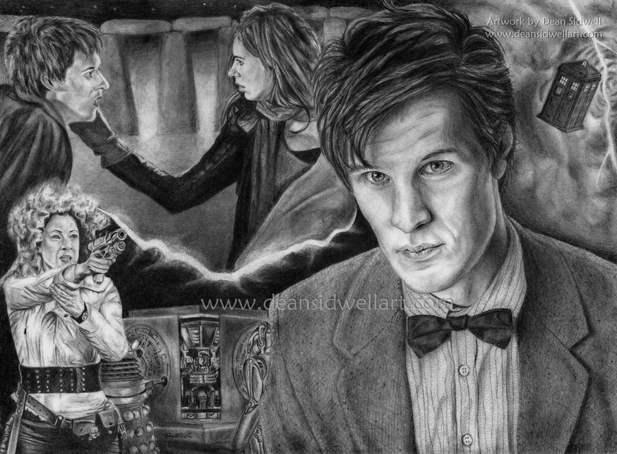 Doctor Who - The Pandorica by DeanSidwellArt