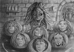 Eddie's Iron Maiden Pumpkins