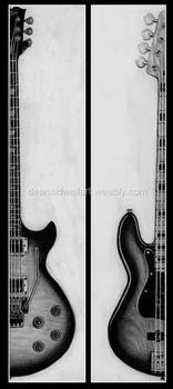 Two guitars by DeanSidwellArt