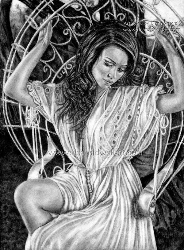 Jessica Alba by DeanSidwellArt