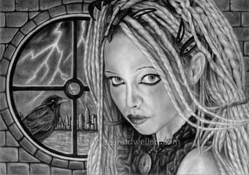Stormbringer by DeanSidwellArt