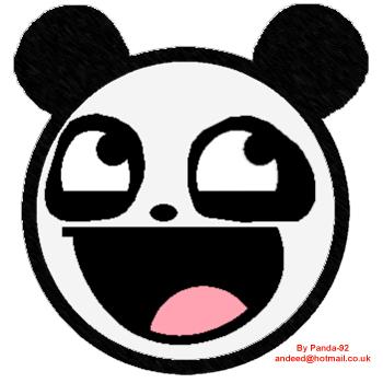 Awesome Panda Face by Panda-92