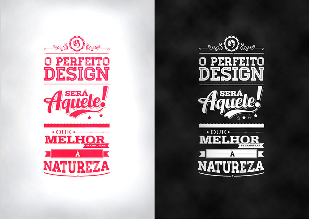 Tipografia Design Frase By Victor Herrera By Brunobps
