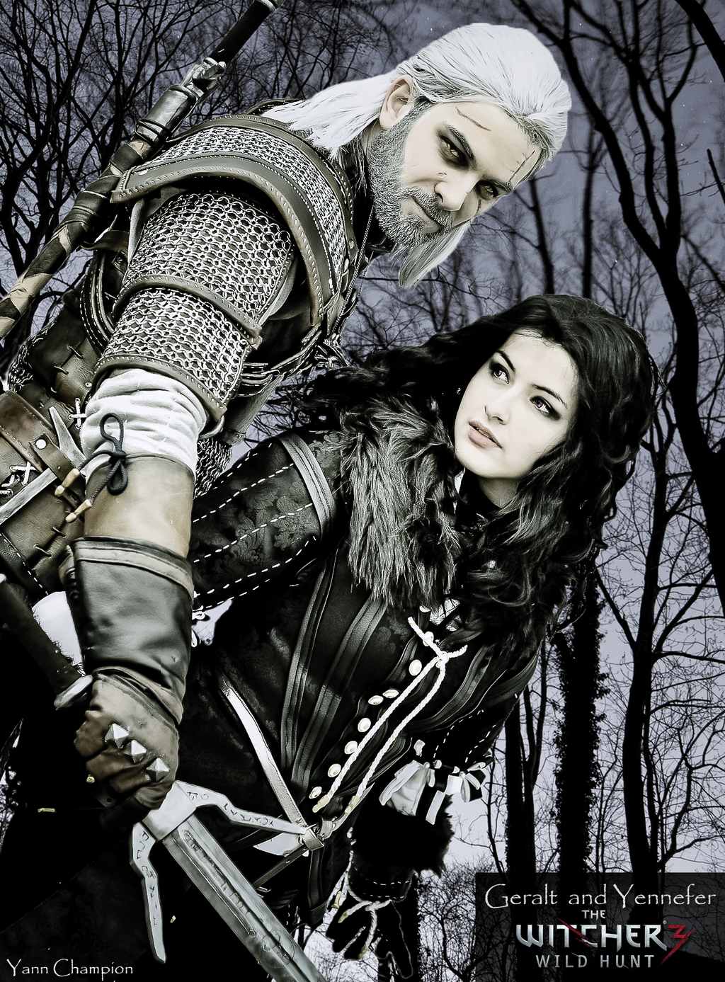 geralt and yennefer by - photo #22