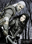 Geralt and Yennefer (Zephon Cos and Azure Cosplay)