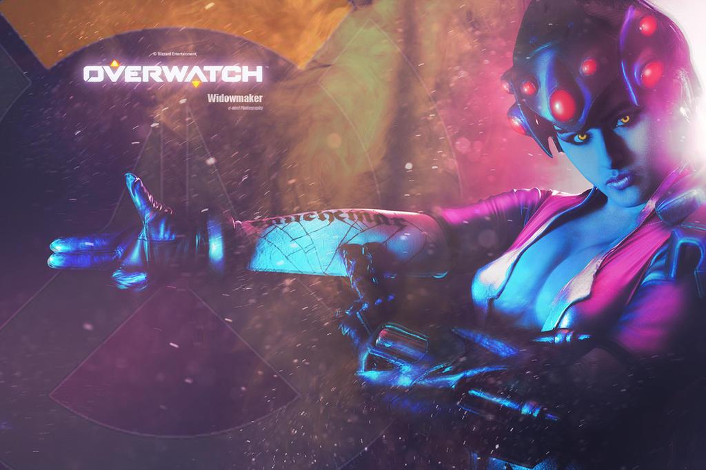 Widowmaker (Overwatch) by Azure Cosplay by AzureBluevision