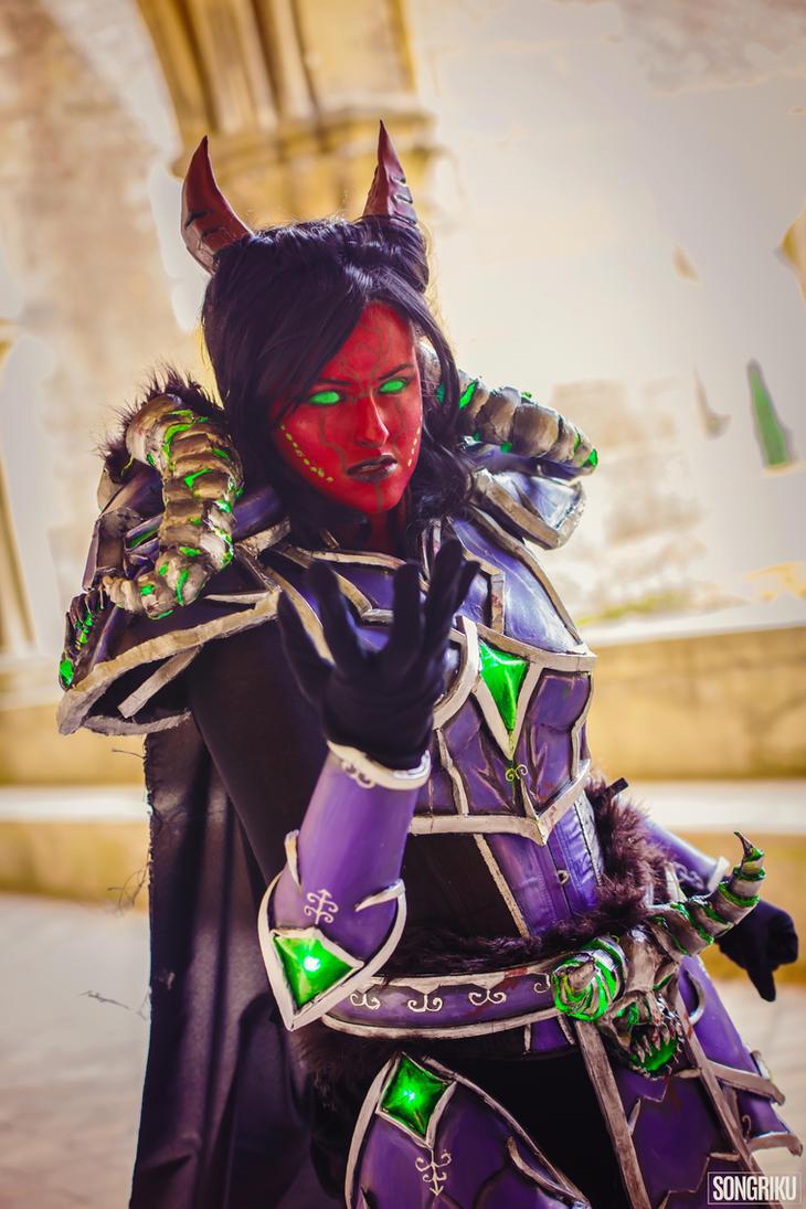Tyrant Velhari - World of Warcraft (Azure Cosplay) by AzureBluevision