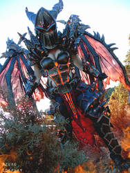 Deathwing cosplay by Azure Cosplay