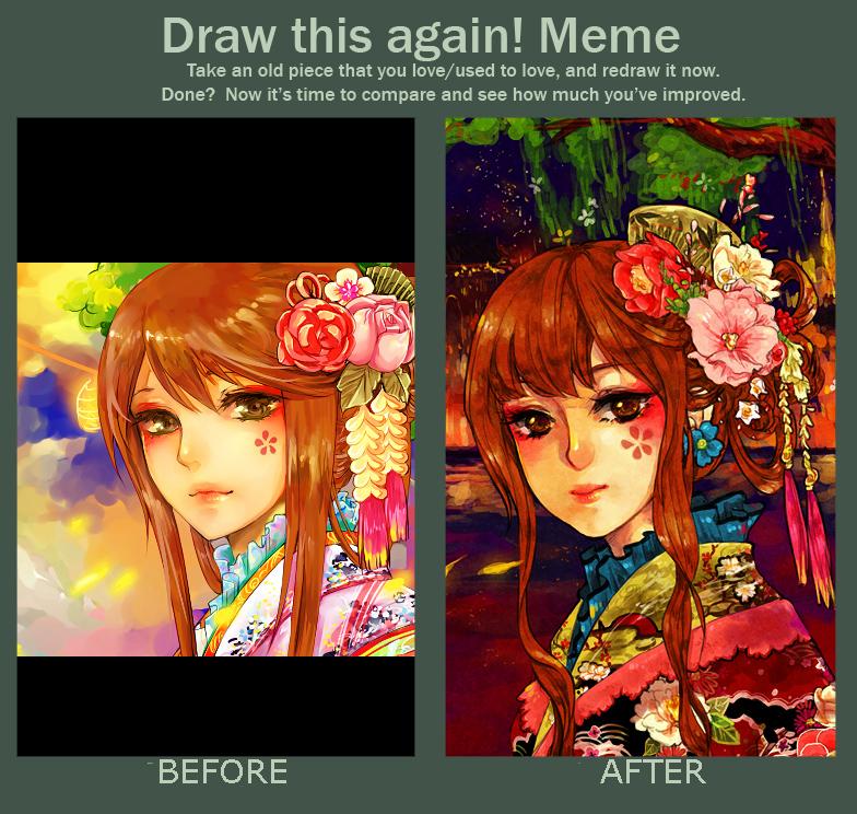 Old Art vs New Art Meme! by naseu