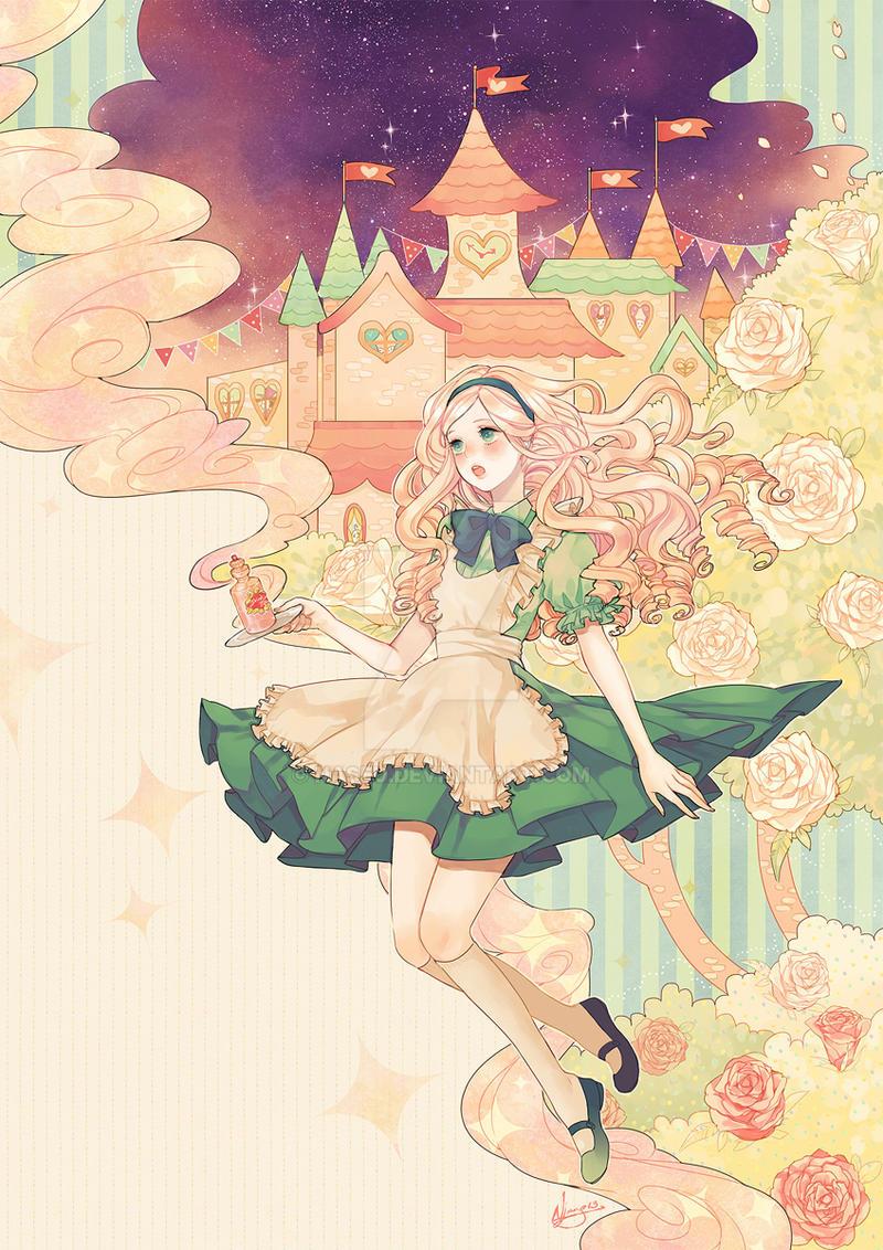alice's pastel wonderland by naseu