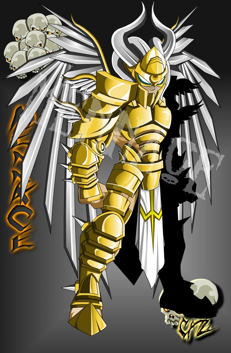Arch Angel Armor By TheCarlosZayas