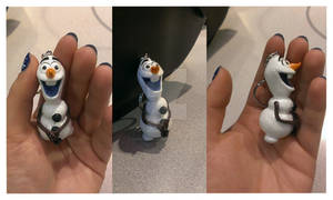 Olaf from Frozen Key Chain Commission