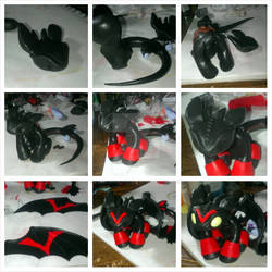 Toothless Commission Step by Step