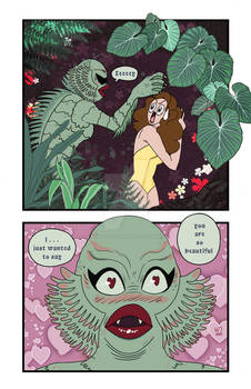 Creature from the Black Lagoon Terror Time Zine
