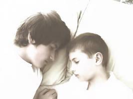 Only when they sleep by KarolinaSkaUniverse