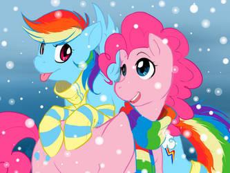 Gift- RainbowPie by HoneyCane