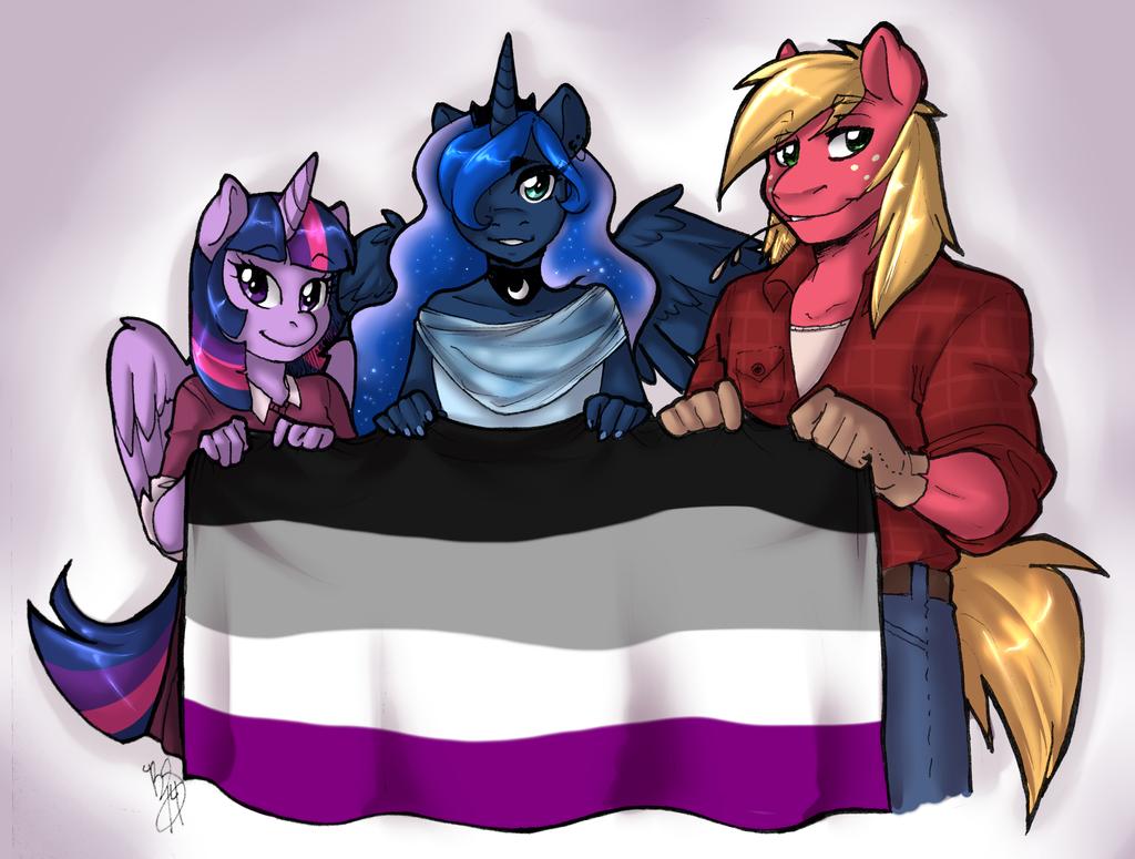 MLP- Asexual Awareness Week by HoneyCane