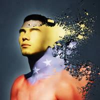 With the skin of Venezuela by Uraidan-mix