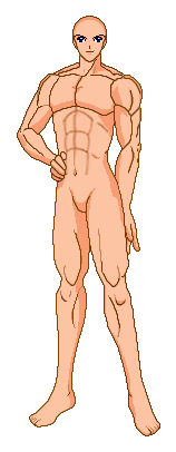 SSMU: Adult Male Muscle by SailorMillenium