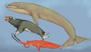 The whale mimics of future earth!