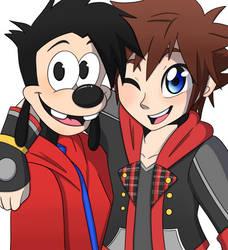 Sora and Max