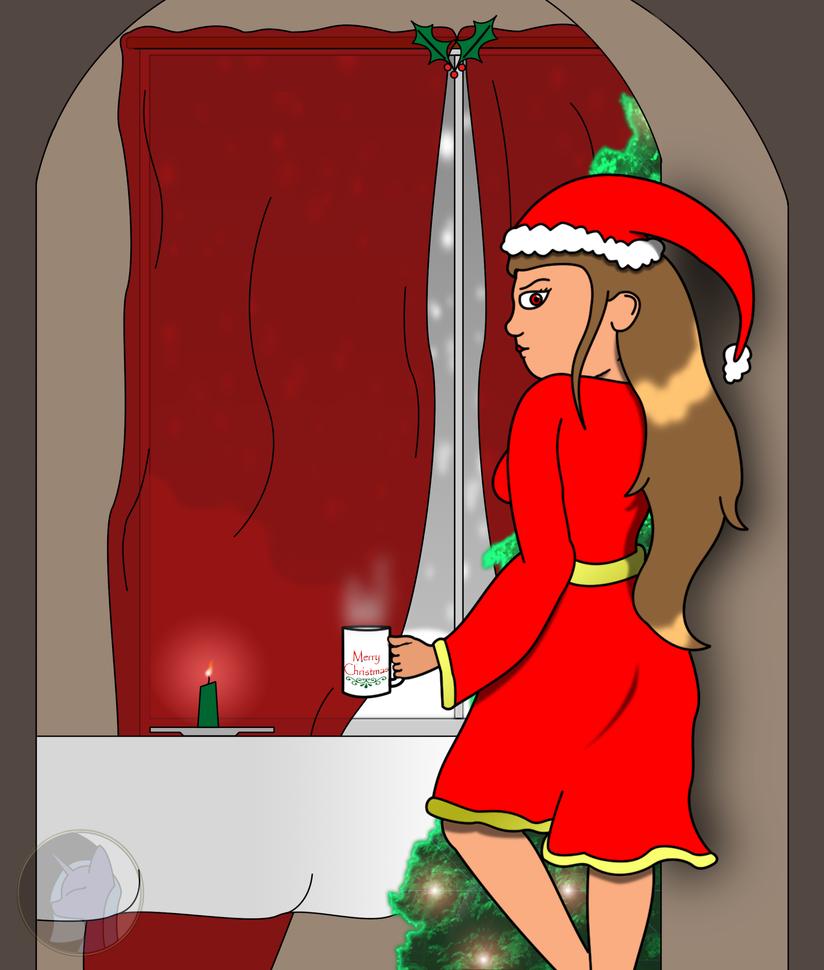 Succubus Christmas by AlopexVelox