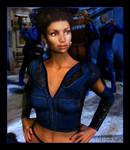 Uhura Goes Undercover by mylochka