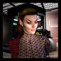 Romulan Commander 01 by mylochka
