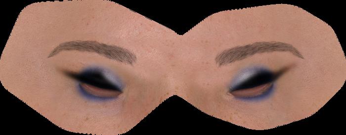 Hele Noel Eye Make-up by mylochka