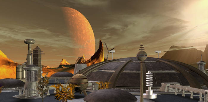 Vulcan City Scene 03