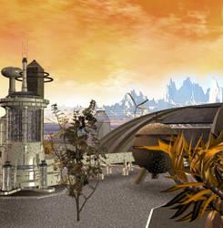 Vulcan City Scene 04 by mylochka