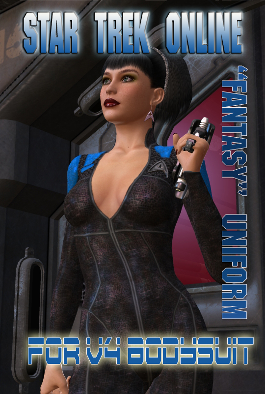 V4 Trek Game Bodysuit Texture