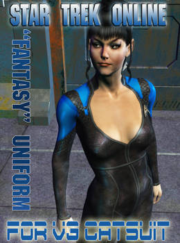 V3 Trek Game Bodysuit Texture