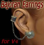 Bajoran Earrings for V4