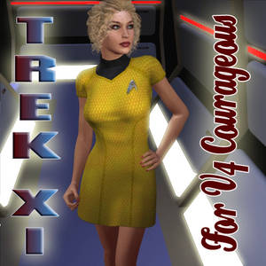 Trek XI dress - V4 Courageous