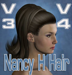 Nancy Hedford Hair by mylochka