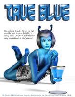 True Blue by mylochka