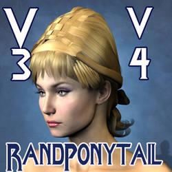 Rand Ponytail Hair by mylochka