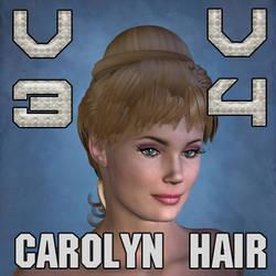 Carolyn Hair for V3 and V4 by mylochka